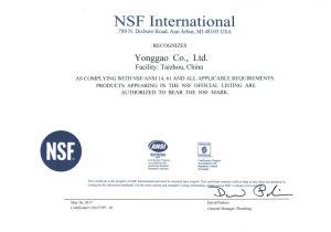 시대 CPVC 벨브, DIN/ANSI/NPT/BSPT/JIS/BS 기준, ASTM F1970, NSF Pw & Upc