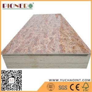 Poplar/pisos/ Combi madeira contraplacada de melamina do núcleo