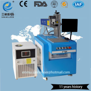 유리에 UV Laser 표하기 기계를 분사하는 플라스틱 병