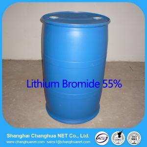 Bromide 55% van het Lithium van de absorptie Koeler zonder Cr CAS 7550-35-8