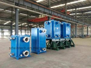高温および高圧労働条件のために適しているすべての溶接された版の熱交換器の十分に溶接された版の熱交換器