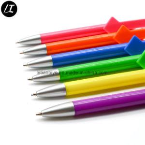 Supporto di plastica Ballpen (LT-E003P) del basamento del telefono della penna a sfera della clip del diamante