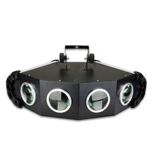 Haz de luz del cielo de aluminio Fan-Shaped cuatro cabezas etapa Spot