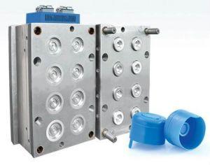 instalação de tubo de injeção de plástico do molde do Tubo do Molde