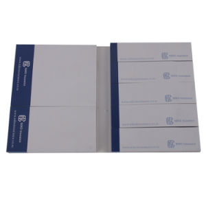 Note appiccicose di plastica della nota appiccicosa stampabile su ordinazione