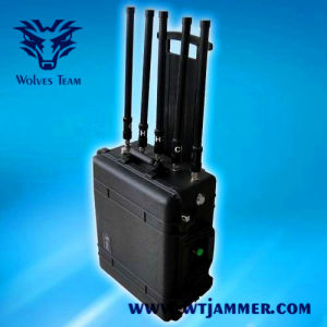 Nueva Maleta 8 antenas de telefonía celular GSM GPS Jammer señal