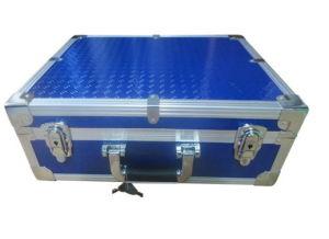 Personalizar maletín de plástico duro aluminio con relleno de espuma EVA