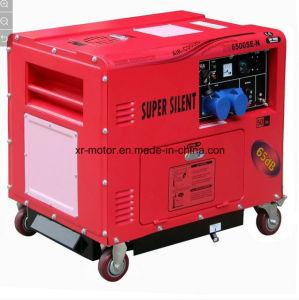 5kw Super Silencioso Generador Diesel Air-Cooled rojo y rosa.