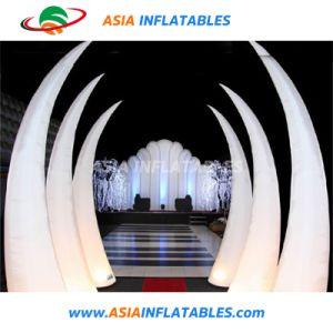 Colonna chiara gonfiabile di vendita calda LED per l'evento della festa nuziale