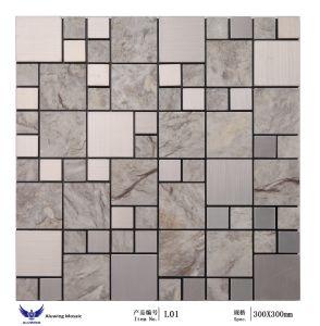 石造りの質のモザイク