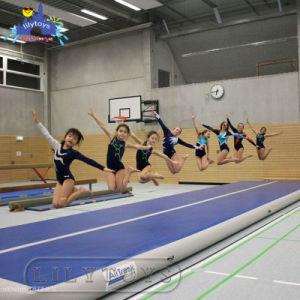 Sup van de Yoga van Lilytoys de Opblaasbare Mat van de Gymnastiek van de Raad voor het Spel van Jonge geitjes en van Volwassenen