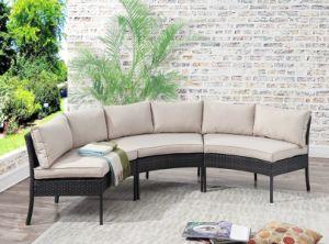 Высокое Качество отдыха в саду вид в разрезе плетеной диван,