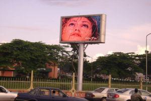 P8 Outdoor plein écran LED de couleur pour la publicité