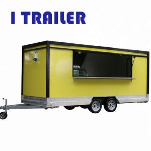 De Bestelwagens van het Voedsel van de Catering van de luchtstroom voor Verkoop