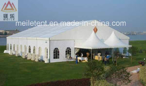 アルミニウム贅沢な常置屋外の大きいPVC結婚披露宴のイベントのテント