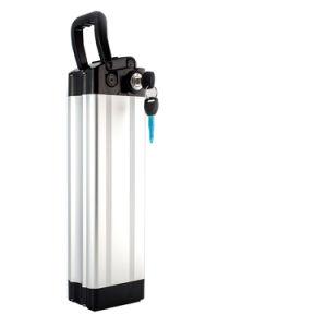 Tipo ricaricabile batteria elettrica dei pesci d'argento della bicicletta di 48V 12ah con il caricatore di BMS