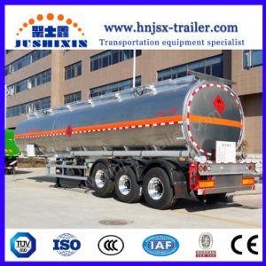 반 40cbm 40000liters 3 차축 알루미늄 연료 탱크 트레일러