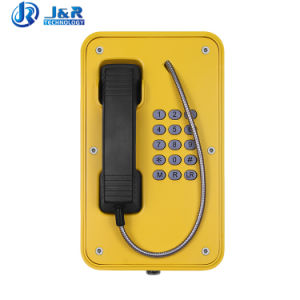 Telefono resistente del telefono Auto-Dial Emergency marino per il traforo