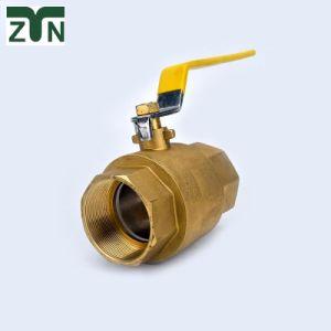 1/4 de pulgada personalizada-4 de latón forjado de pulgada de agua del radiador Válvula de bola de control de gas