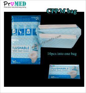 Salute/tessuto dell'hotel/hospital/SPA/salon di cura/documento a gettare sanitario/coperchio di sede di plastica della toletta