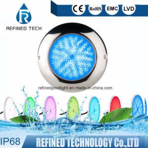 Indicatore luminoso subacqueo del raggruppamento di RGB riempito resina LED dell'acciaio inossidabile di Nicheless 316L completamente