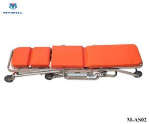 Como M02 em alumínio médica ambulância maca