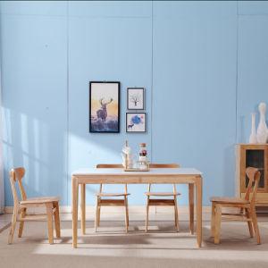 ホームのための現代木製の家具の一定のレストランのダイニングテーブル