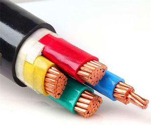 Cavi di alimentazione isolati XLPE/PVC di rame del conduttore, cavo elettrico del cavo elettrico di Yjv