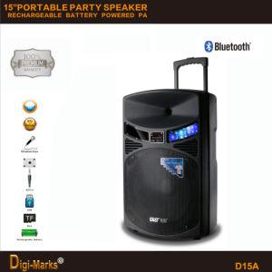 Altoparlante portatile con altoparlante domestico del DJ del microfono di Bluetooth della batteria il PRO