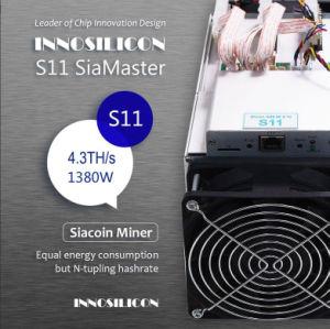 Minatore Blake2b di Innosilicon S11 Siamaster 4.3th/S Innosilicon adatto a Siacoin---Azione di Shenzhen --Gruppo di alimentazione di Inclued ---Shiping libero