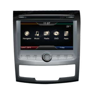 GPSのSsangyong Action Newのための7インチCar Audio Stereo System Accessories、Automotive DVD及びBluetooth及びRadio及びNavigator及びiPod及びTV及びUSB