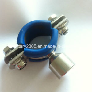 Blue Rubber를 가진 위생 Stainless Steel 304 Pipe Hanger