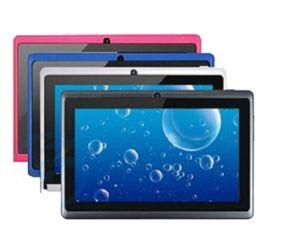 7-дюймовый Android4.0/4 Allwinner A13.1/4,2 планшетные ПК, емкостный экран 5 точки с сенсорным экраном