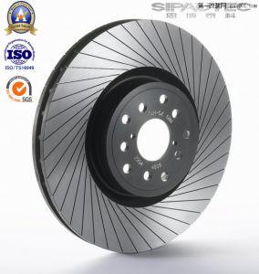 Os rotores de freio a disco de freio para a Peugeot com Ts16949
