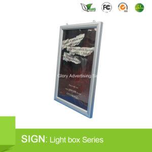 Doos van het Frame van het Aluminium van de kromme de Onverwachte Slanke Lichte