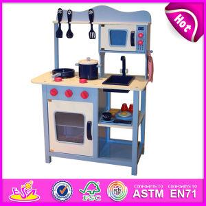 La parte superior nuevo juguete de cocina de madera para niños de edad 3+
