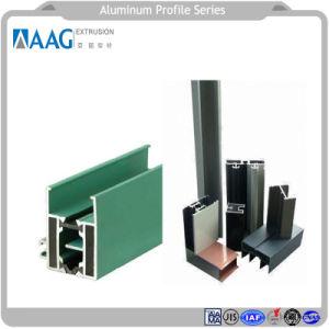 La construcción de aluminio extrusionado Metarial / Perfil de aluminio extruido