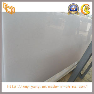 Polished Crystal White Marble Slabs for Wall, Countertop, Tiles