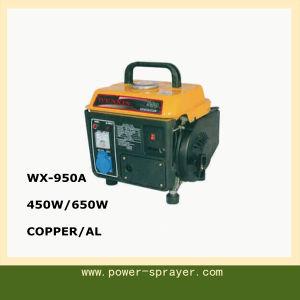 Camping usar Super bastante portable 650W/450W Min Generador Gasolina 950A
