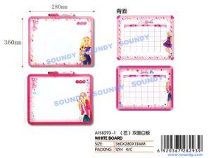 La serie Barbie pizarra blanca de doble cara