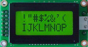 エアコン青いTN 7セグメントLCD表示