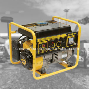 1000W 1.0kVA 154f 2.6HPの単一フェーズガソリンかガソリンエンジンの発電機