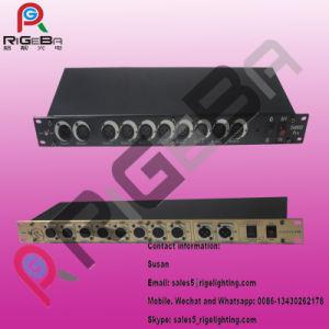 DMX512 Fase consola do equipamento de luz do divisor de sinal inteligente