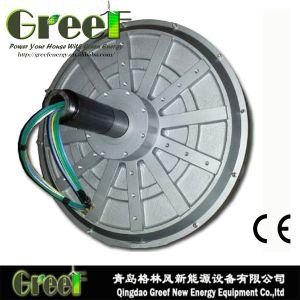 Bajo precio Coreless de imán permanente de Flujo Axial generador con BV