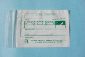 Пилюли LDPE мешки для упаковки таблеток и Food Grade