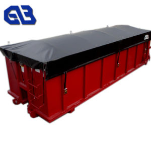 De pvc Met een laag bedekte Stof van /Tent van het Geteerde zeildoek/de Stof van de Dekking van de Vrachtwagen