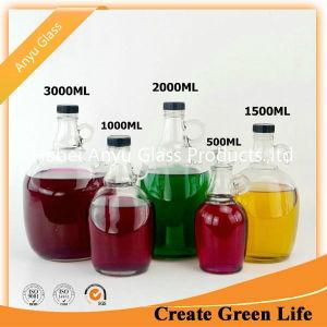 بالجملة الصين صاحب مصنع صنع وفقا لطلب الزّبون [بير بوتّل] زجاجيّة