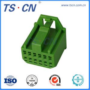 6つのピンプラスチック自動電線の馬具のメス型コネクタ