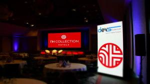 P3.91 Vivid performances vidéo écran LED de 16 bits, intérieur Couleur Affichage LED de location