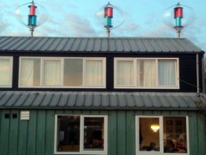 1000W Eixo Vertical trifásicas de geradores de energia eólica